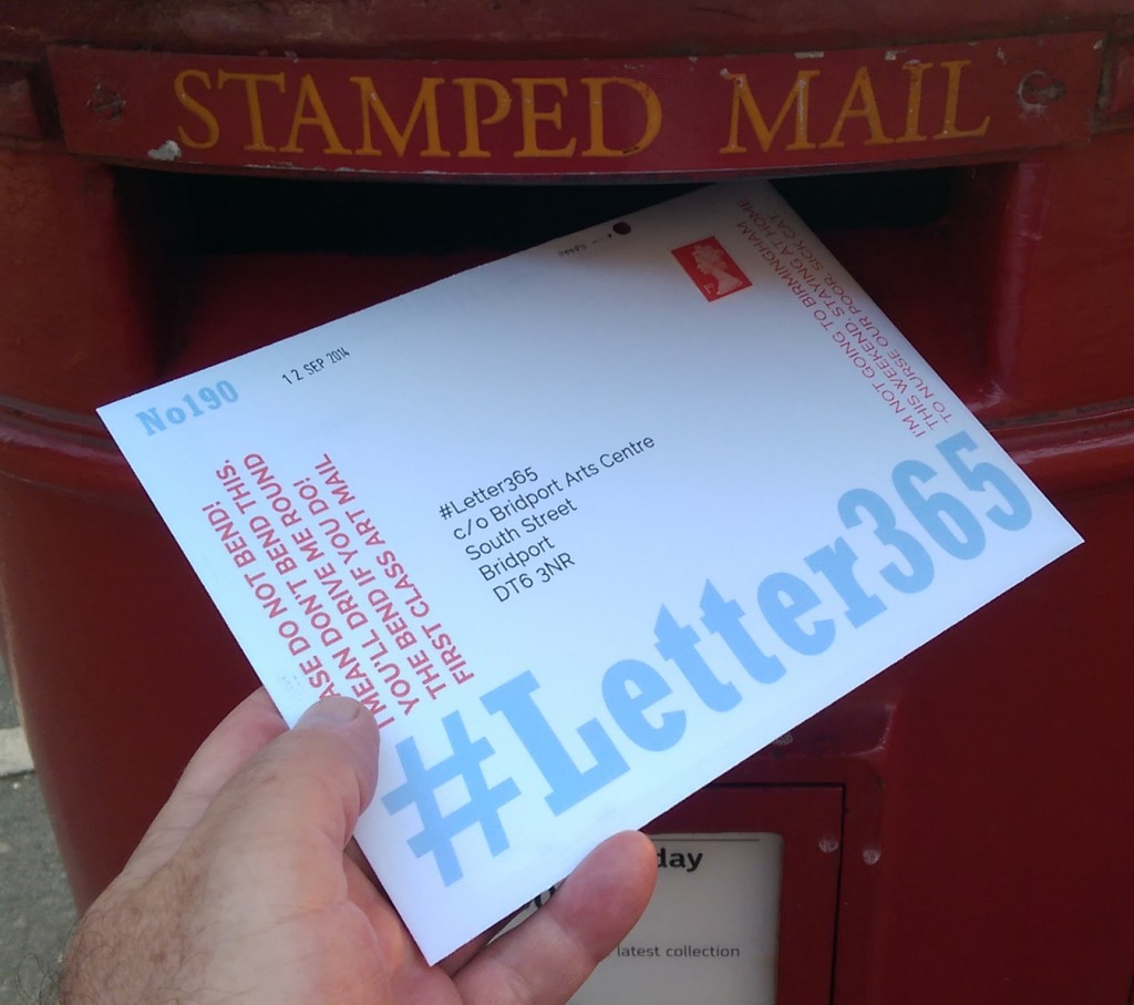 #Letter365 No190 gets posted