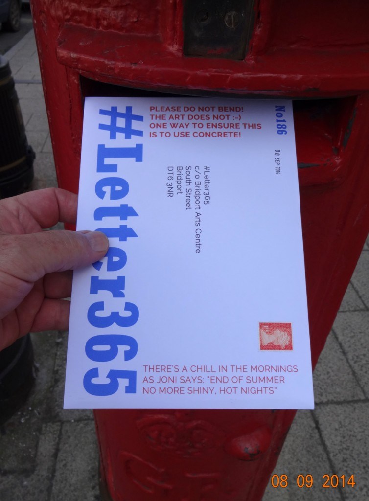 #Letter365 No186 gets posted