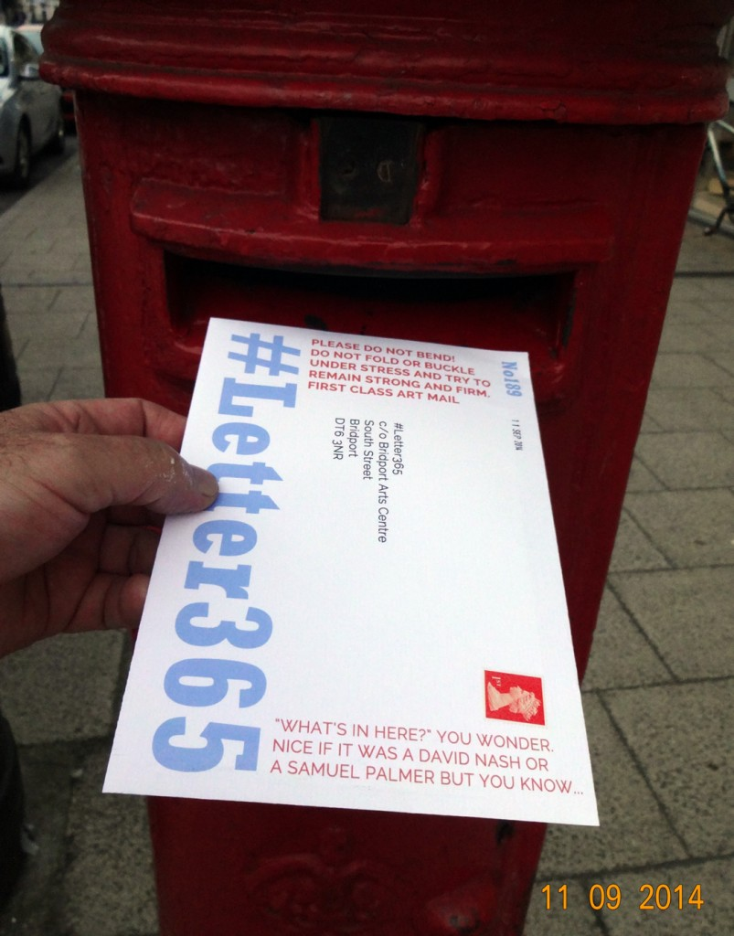 #Letter365 No189 gets posted