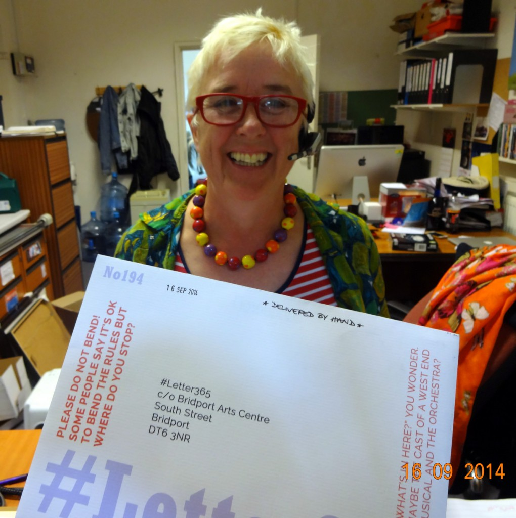 Jill Beed takes delivery of #Letter365 No194
