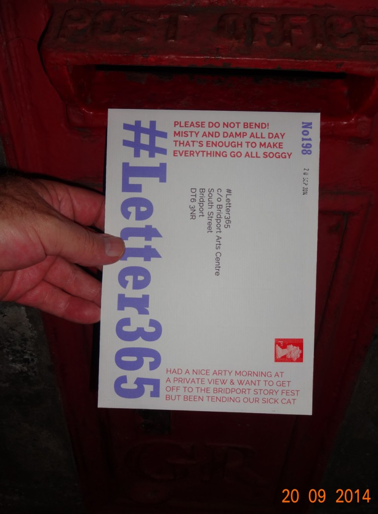 #Letter365 No198 gets posted
