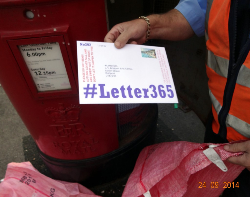 #Letter365 No202 gets taken by the postie