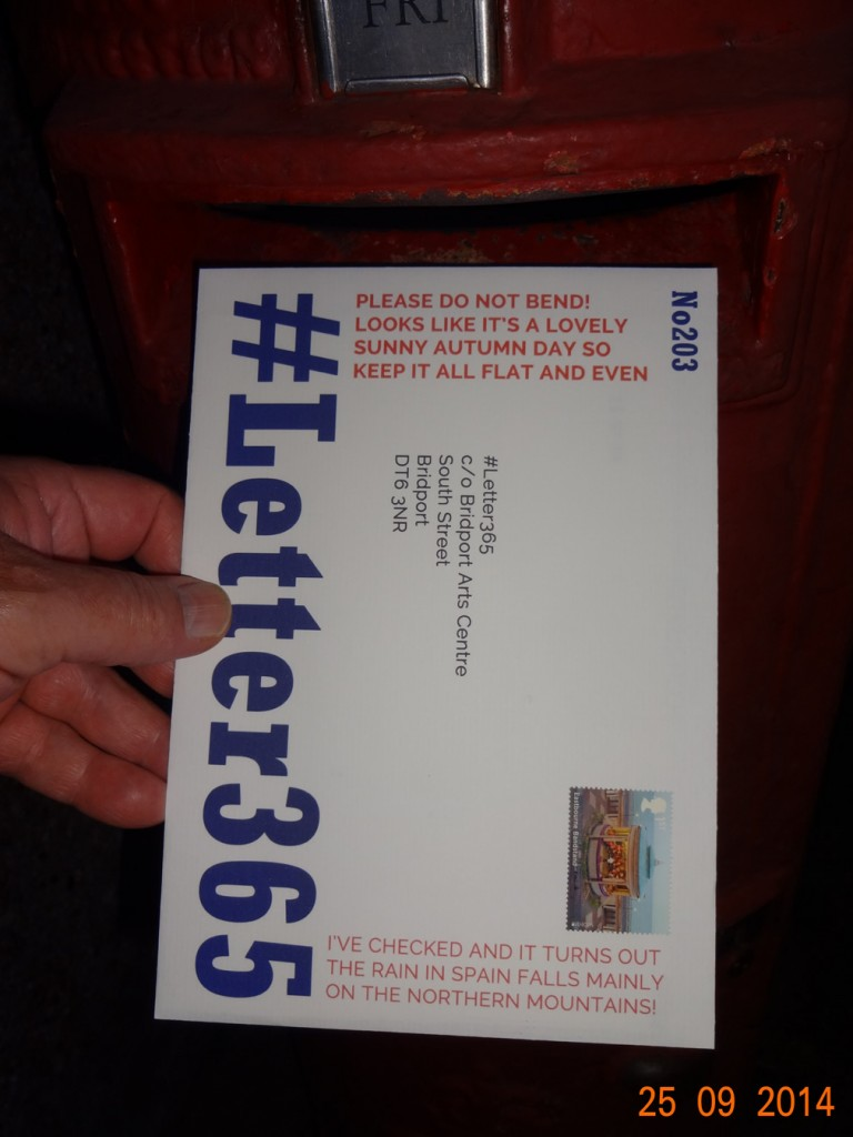 #Letter365 No203 gets posted