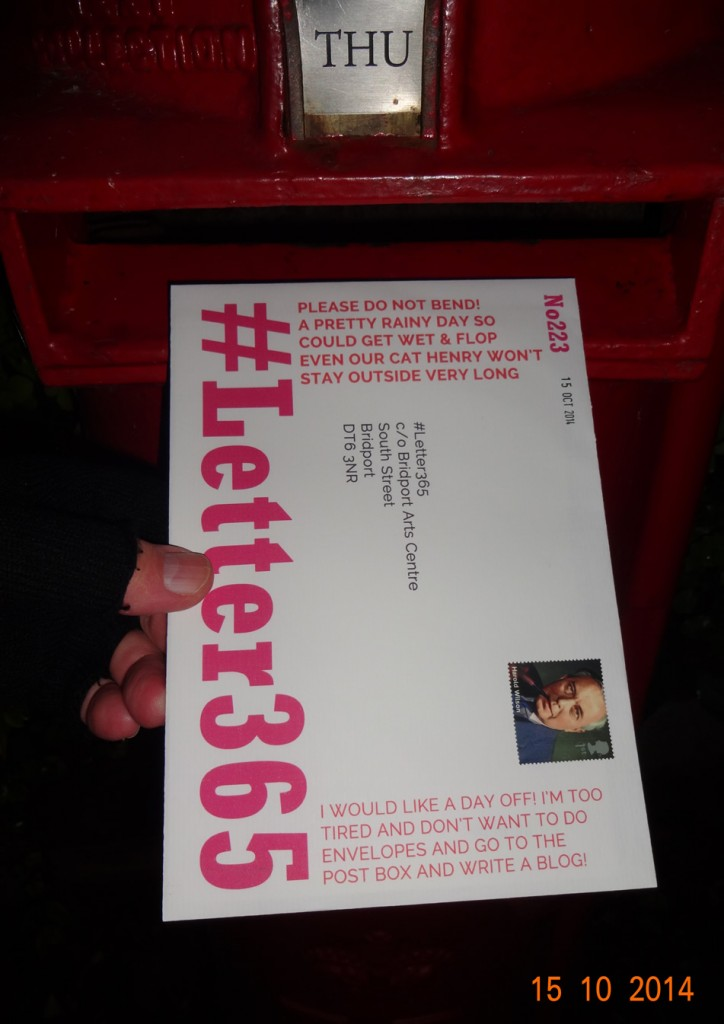 #Letter365 No223 gets posted