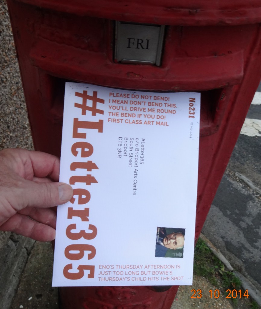 #Letter365 No231 gets posted