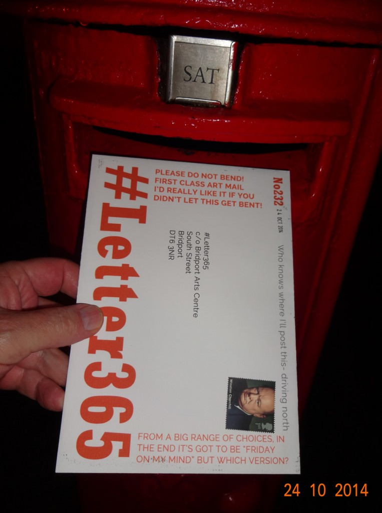 #Letter365 No232 goes in the box in Redditch