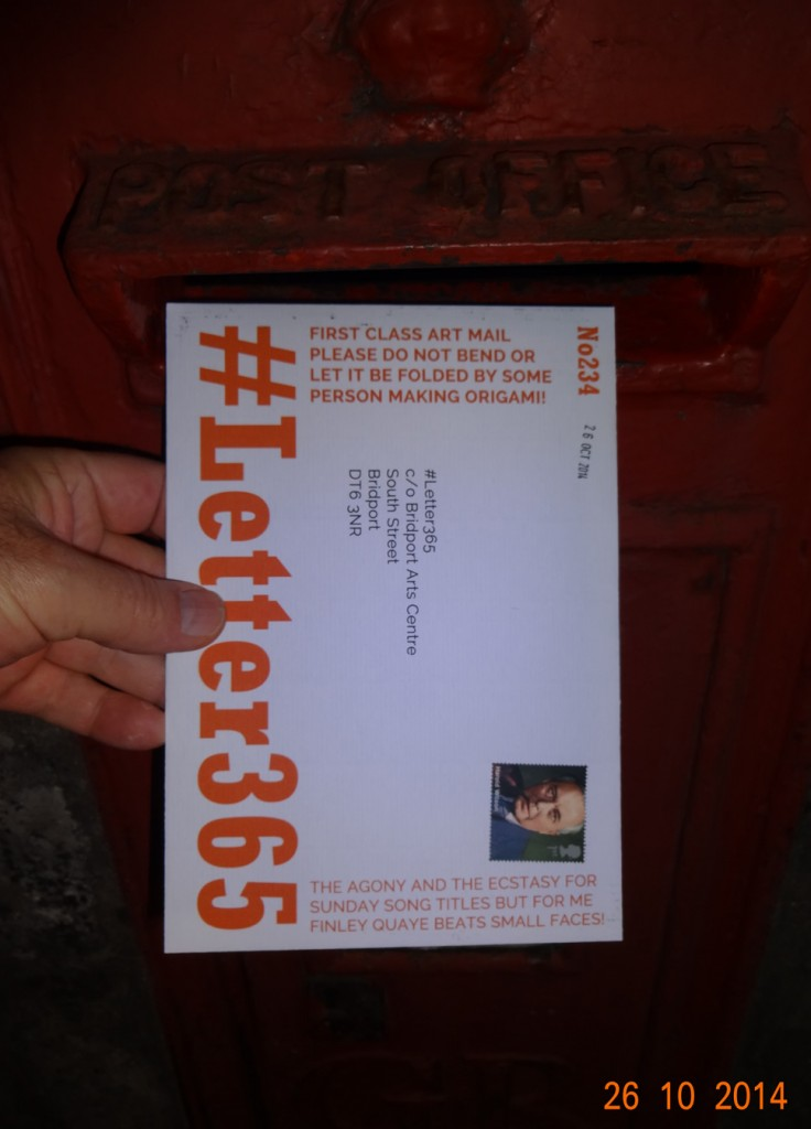 #Letter365 No234 gets posted