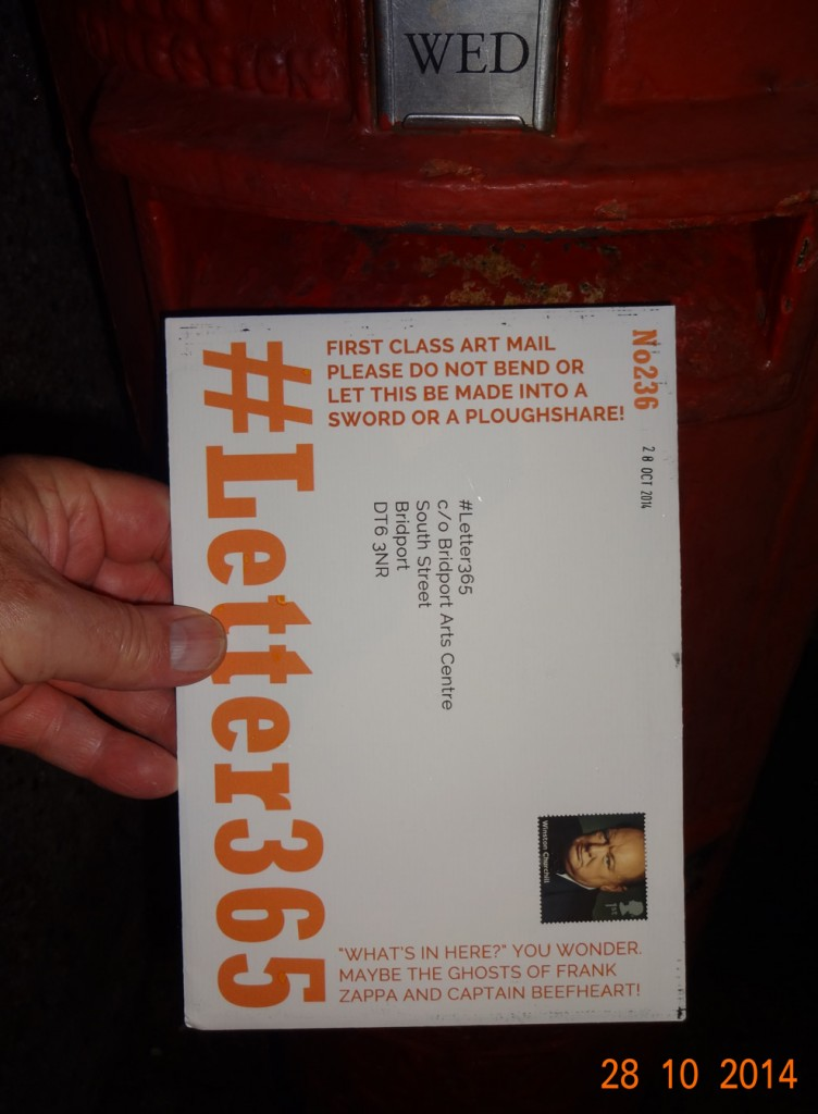 #Letter365 No236 gets posted in the rain