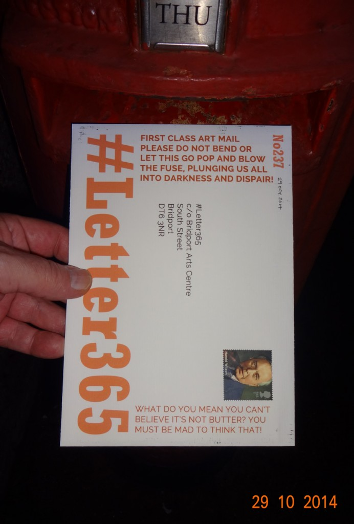 #Letter365 No237 goes in the box