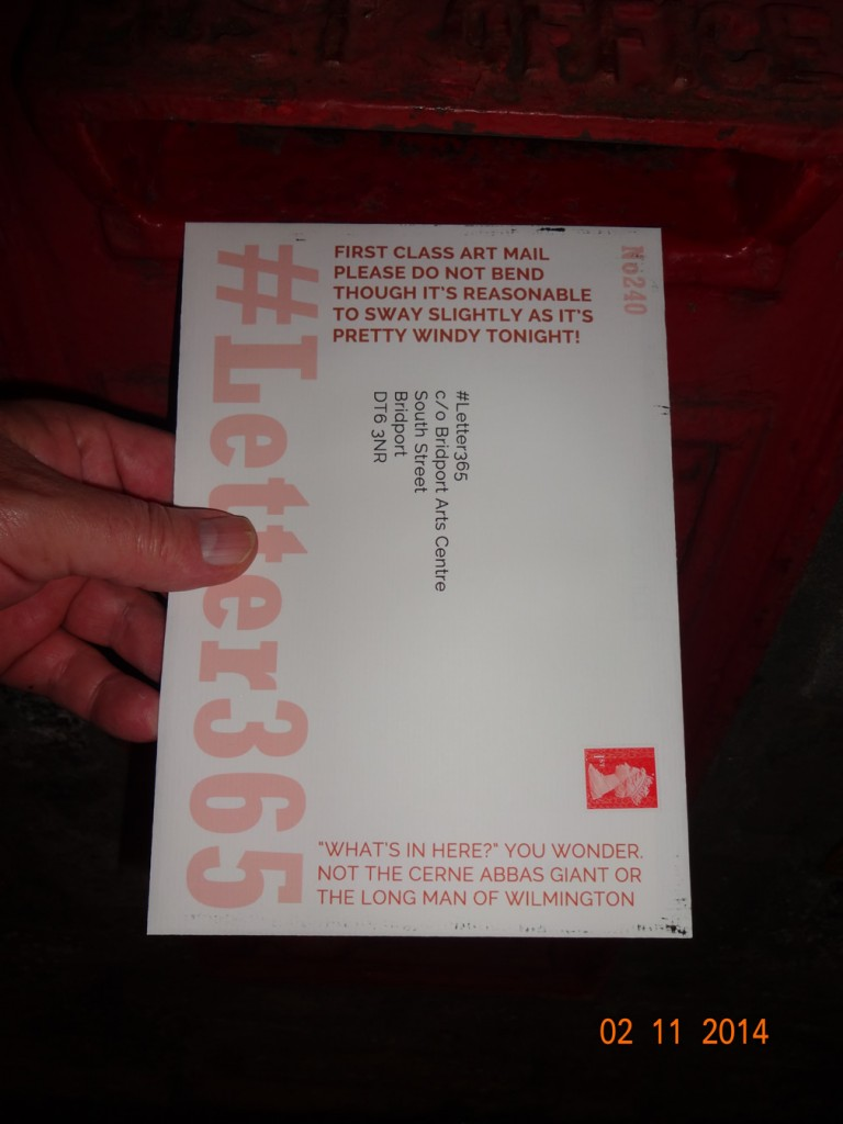 #Letter365 No240 gets posted