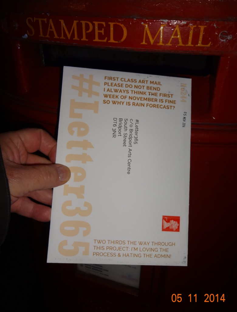 #Letter365 No244 gets posted
