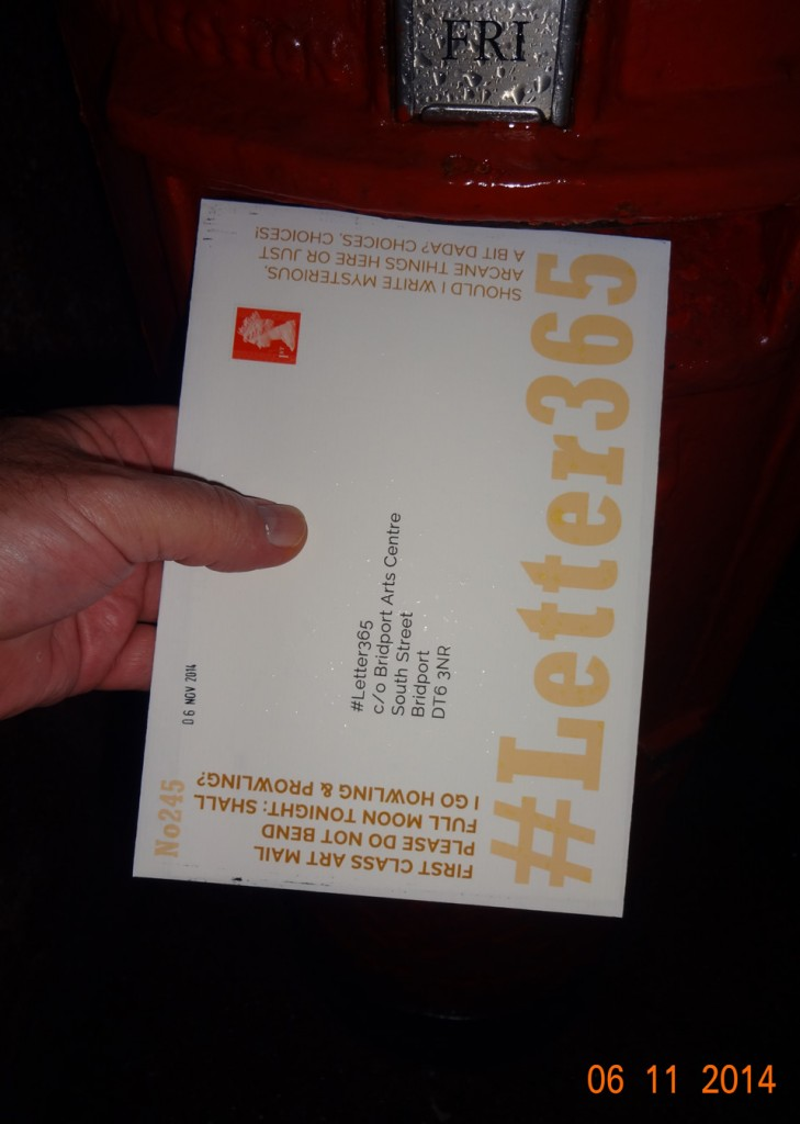 #Letter365 No245 gets posted