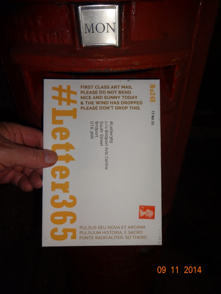#Letter365 No248 gets posted