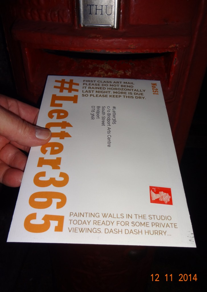 #Letter365 No251 goes in the box