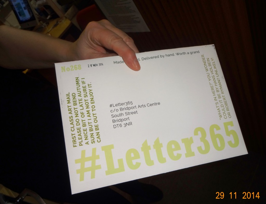 Dee takesdelivery of #Letter365 No268