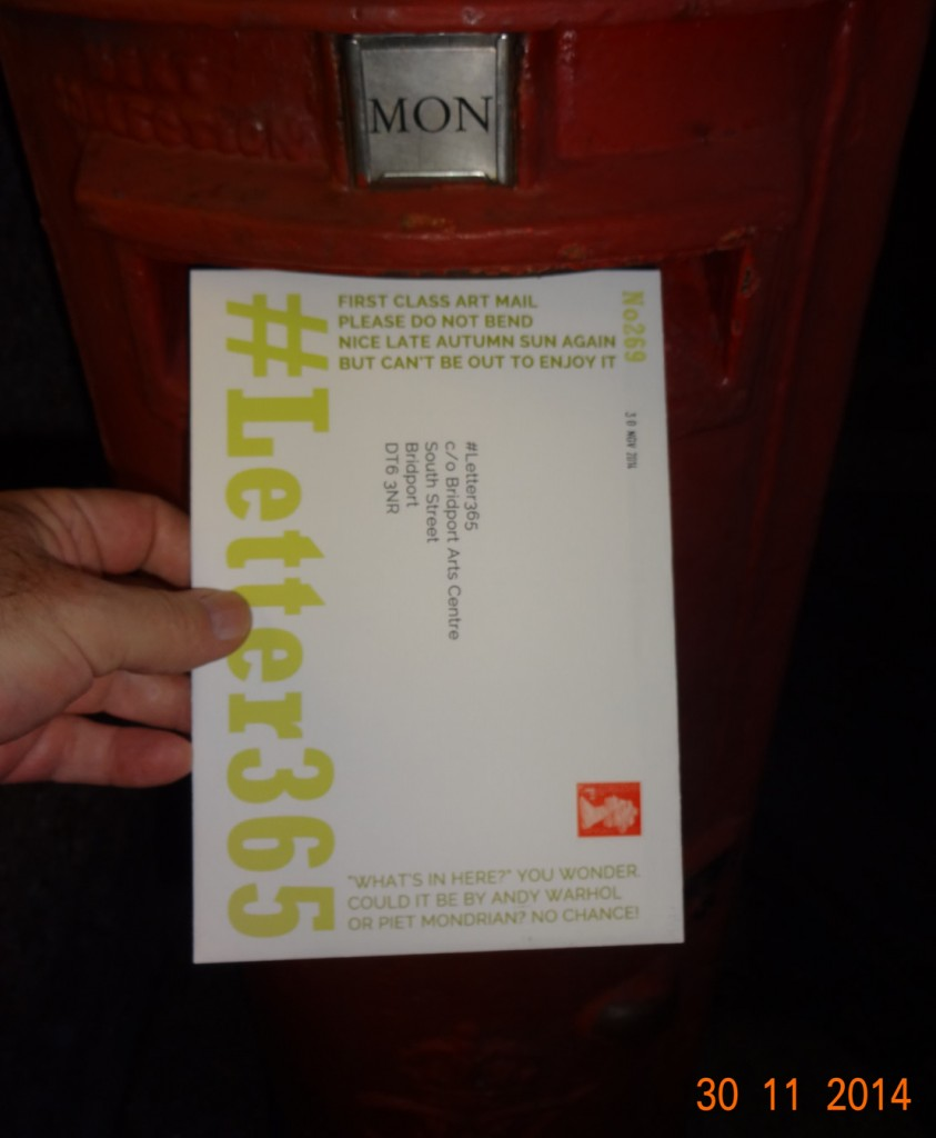 #Letter365 No269 gets posted