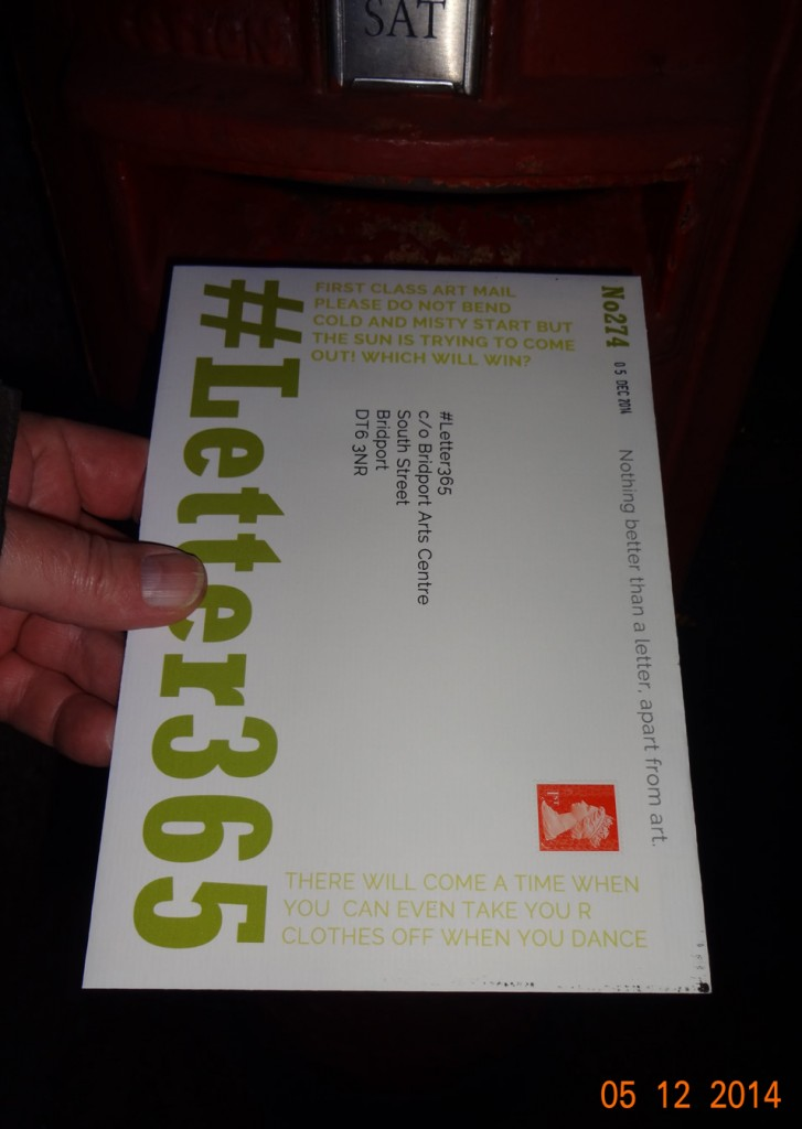 #Letter365 No274 gets posted