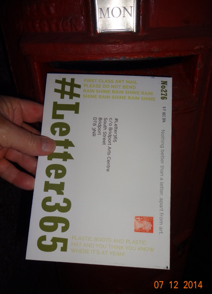 #Letter365 No276 gets posted
