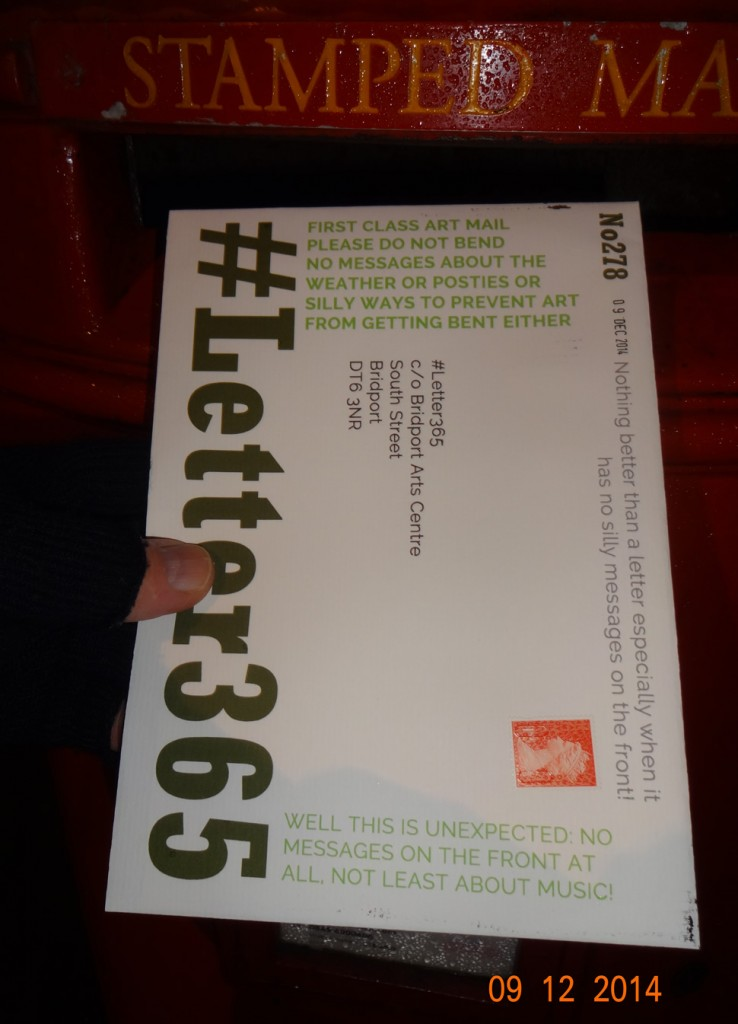 #Letter365 No278 gets posted
