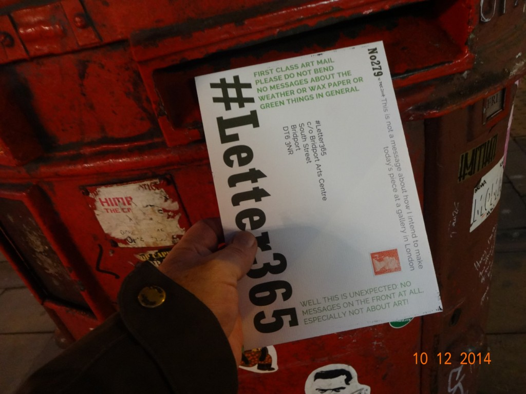 #Letter365 No279 gets posted in a side-opening double box in London