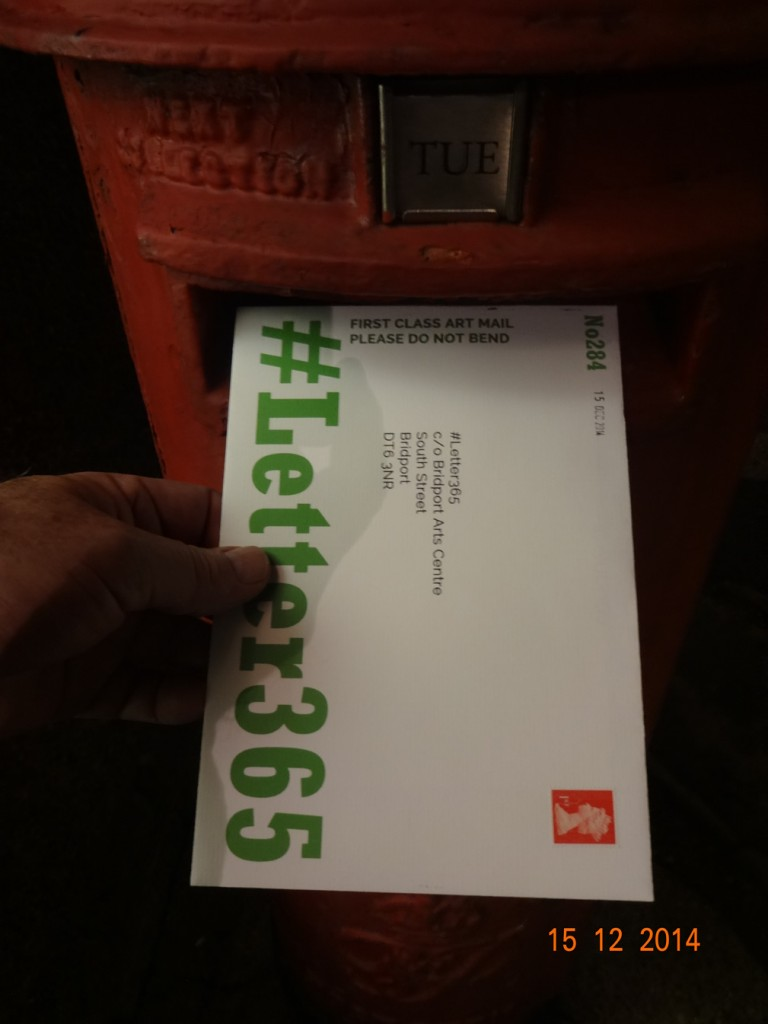 #Letter365 No284 gets posted