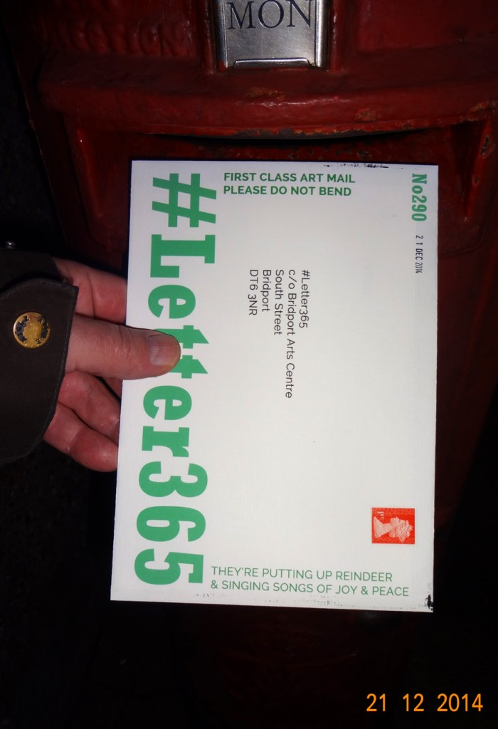 #Letter365 No290 gets posted