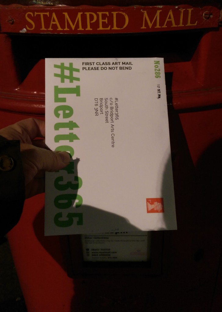 #Letter365 No286 gets posted