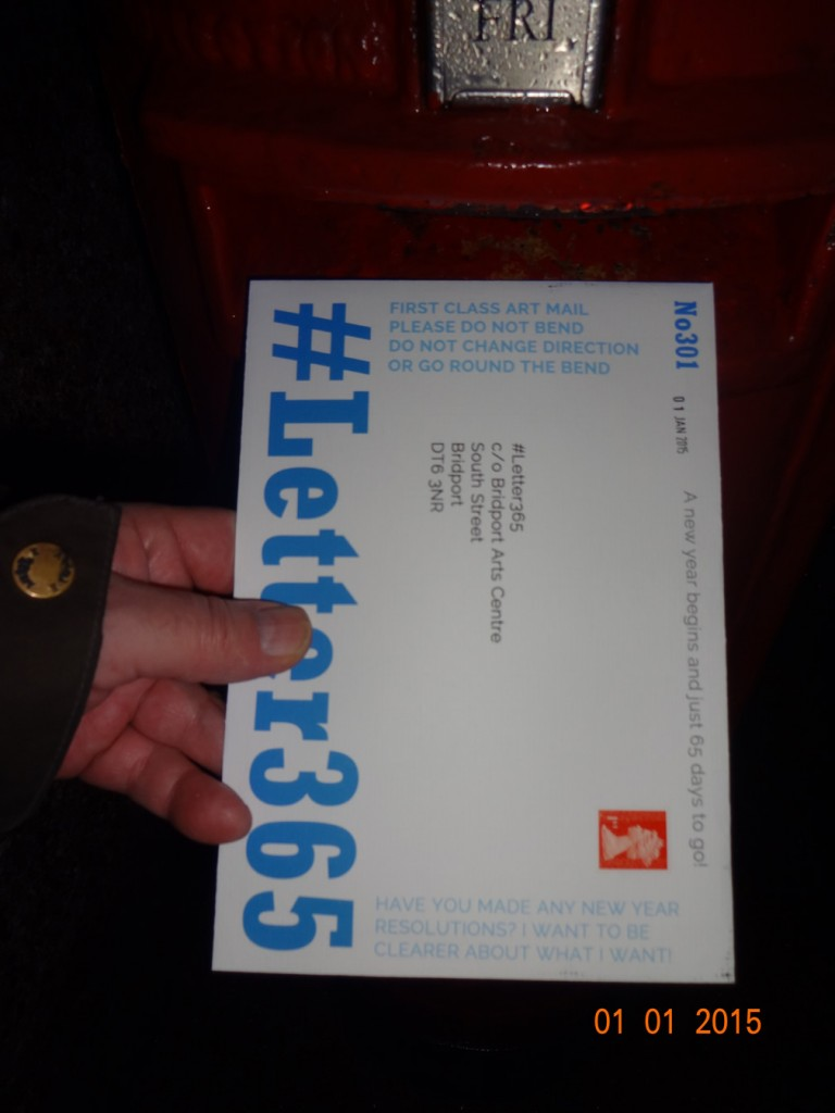 #Letter365 No301 gets posted in the wind and rain