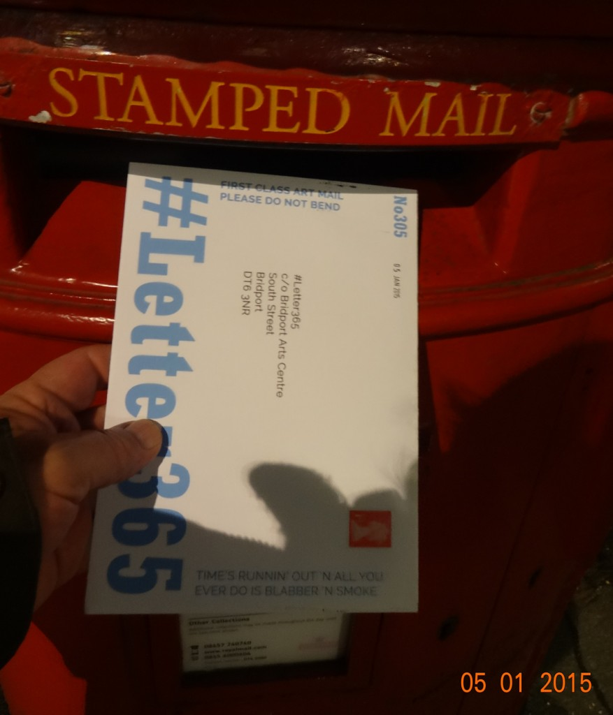 #Letter365 No305 goes in the post