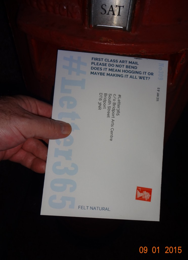 #Letter365 No309 gets posted
