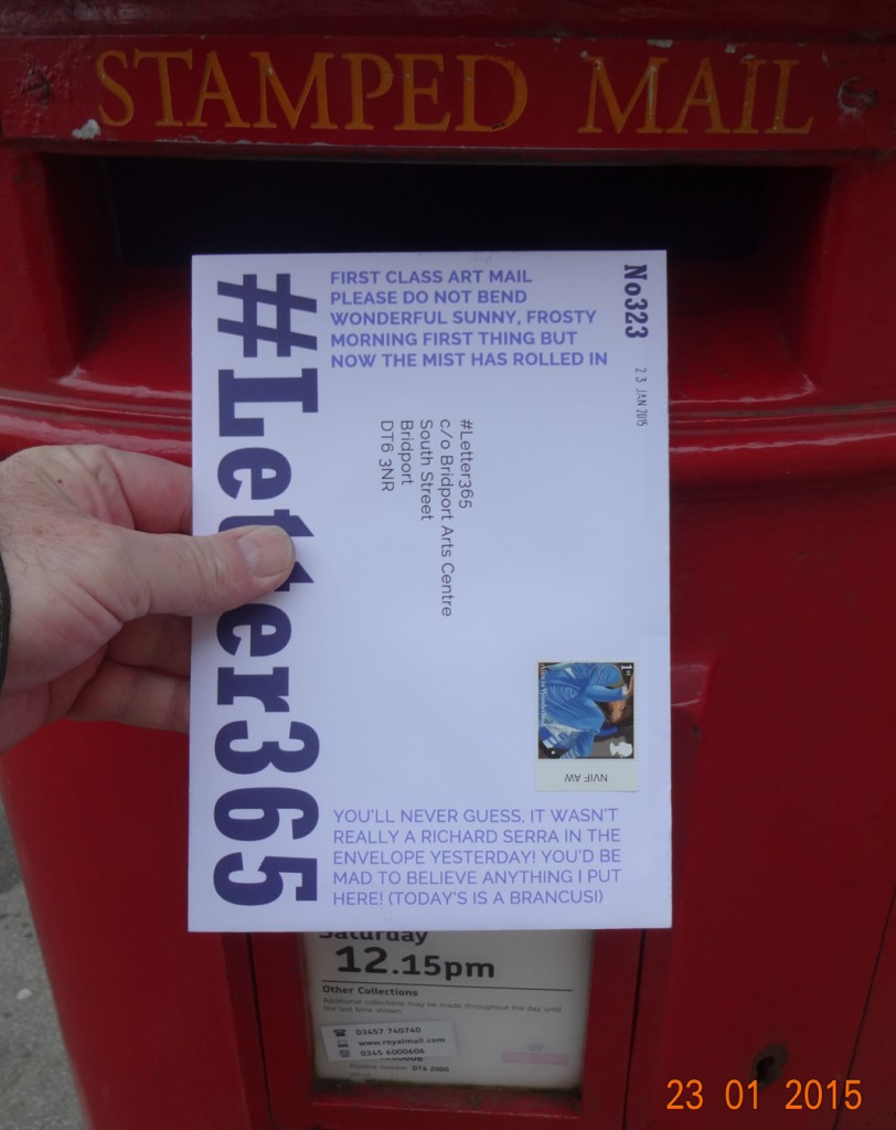 #Letter365 No323 gets posted
