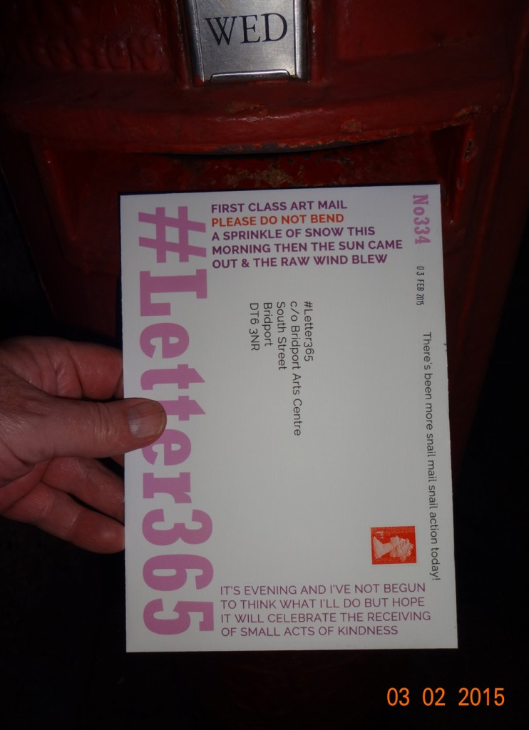 #Letter365 No334 gets posted