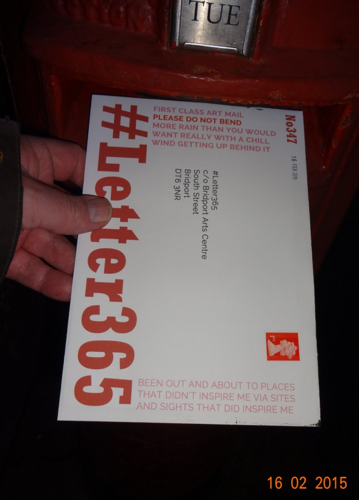#Letter365 No347 gets posted