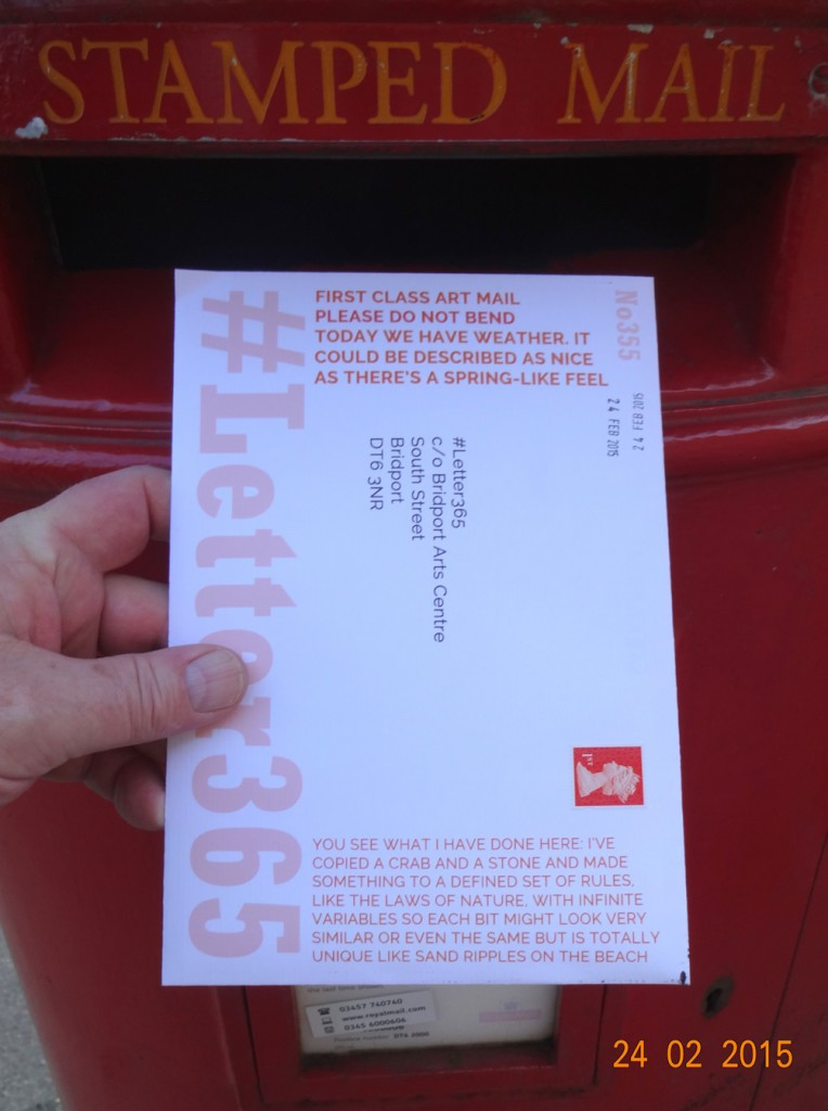 #Letter365 No355 gets posted