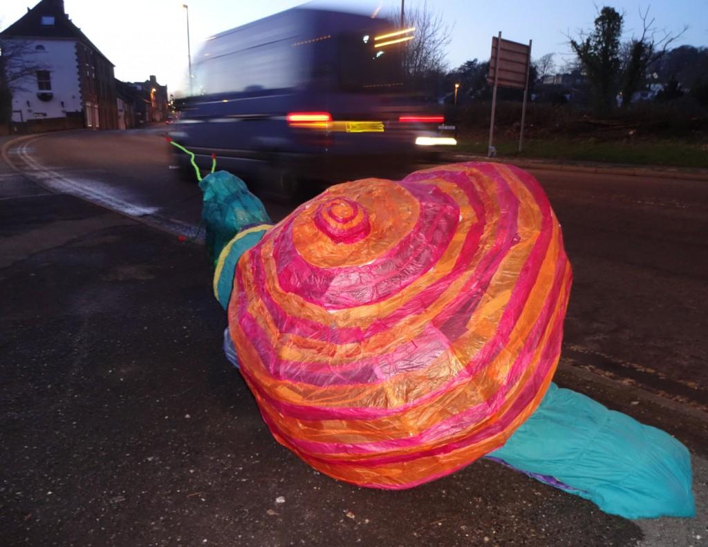 The snail mail snail