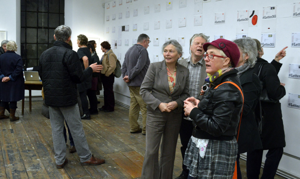 Preview Evening in the Allsop gallery
